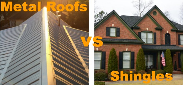WBC Homes And The Difference Between Metal Roofs And Asphalt Shingles