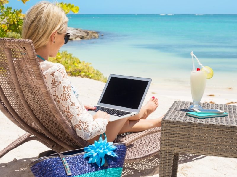 Image result for Teach english online while traveling