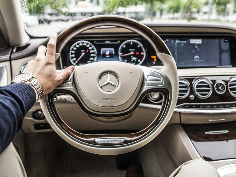 Steering Wheel, Car, Drive, Driving, Automobile
