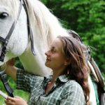 Horse, Girl, Friendship, White Horse, Grooms, However